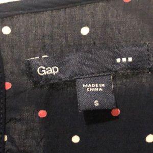 GAP Tops - NWOT! Gap polka dot blouse!
